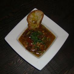 Chicken, Heirloom Tomato and White Bean Stew