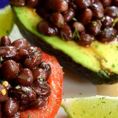 Chilled Black Bean Salad