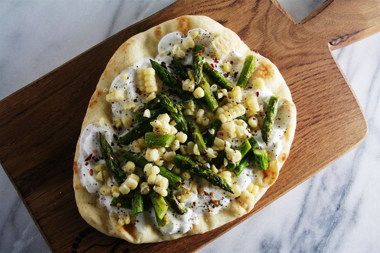 Summer Vegetable Flatbread