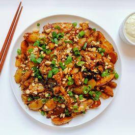 Kimchi Potatoes