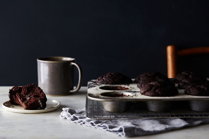 fd41ef30 7869 454d b537 9d3729048c97  2016 0202 vegan double chocolate muffins valentines day julia gartland 0467 14 Cakes That Prove Wheat Free Baking Is Not Just a Trend