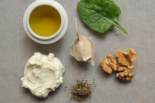 Yoghurt & Spinach Dip, 'Borani Esfanaaj', in the Persian Manner