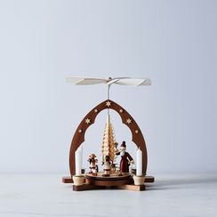 Handcrafted German Pyramid & Candles