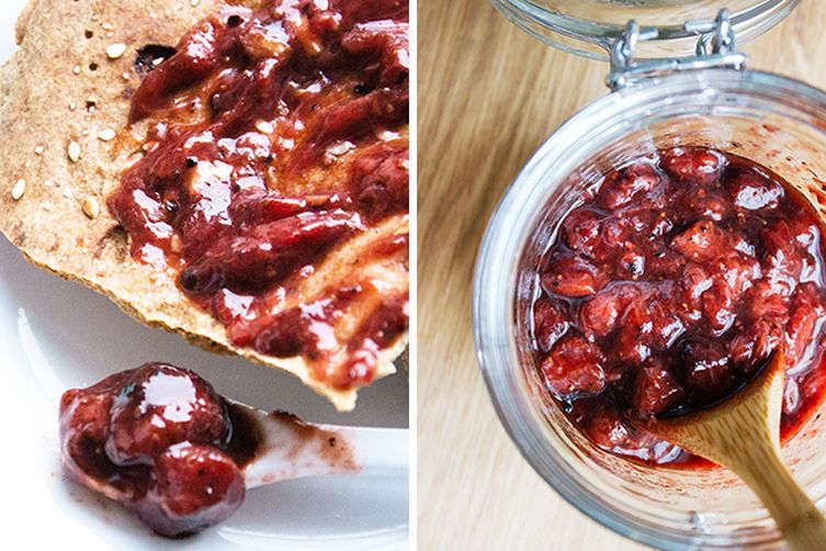 Balsamic Roasted Wild Strawberry Jam