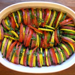 Roasted Summer Vegetable Tian