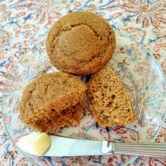 Indian Pudding Muffins (Spiced Cornmeal Molasses Muffins)