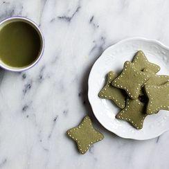 Haruko's Japanese Matcha Butter Cookies