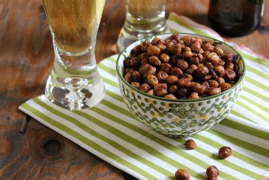Spicy Southwest Roasted Chickpeas