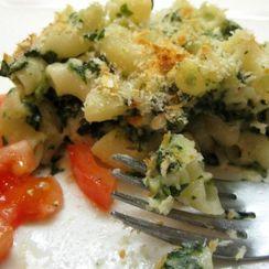 Garlic Spinach Mac 'n Cheese