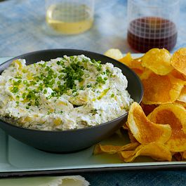 dips and snacks by Evelyn Kelsick
