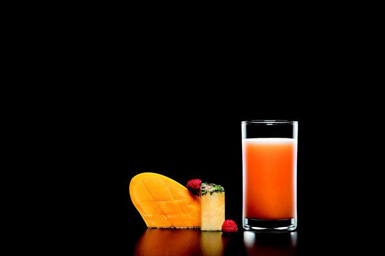 Raspberry Mango Pineapple Juice