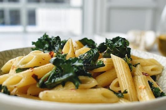 An Apulian Way Pasta: Penne with Flower Sprouts and Anchovies