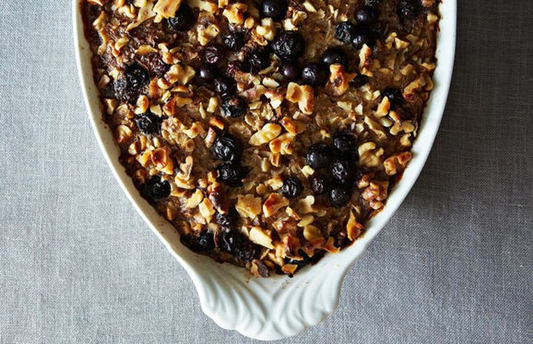 Low Risk, High Reward: Heidi Swanson's Blueberry Baked Oatmeal