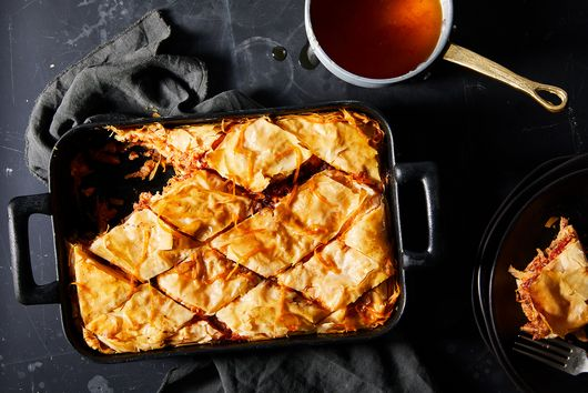 Savory Pork & Fennel Baklava