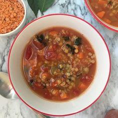 Simple Lentil Vegetable Soup