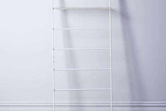 Steel & Wood Leaning Ladder