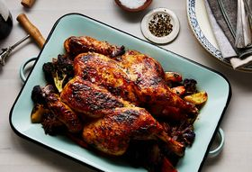 Roast Butterflied Chicken With Honey for a Sweet New Year