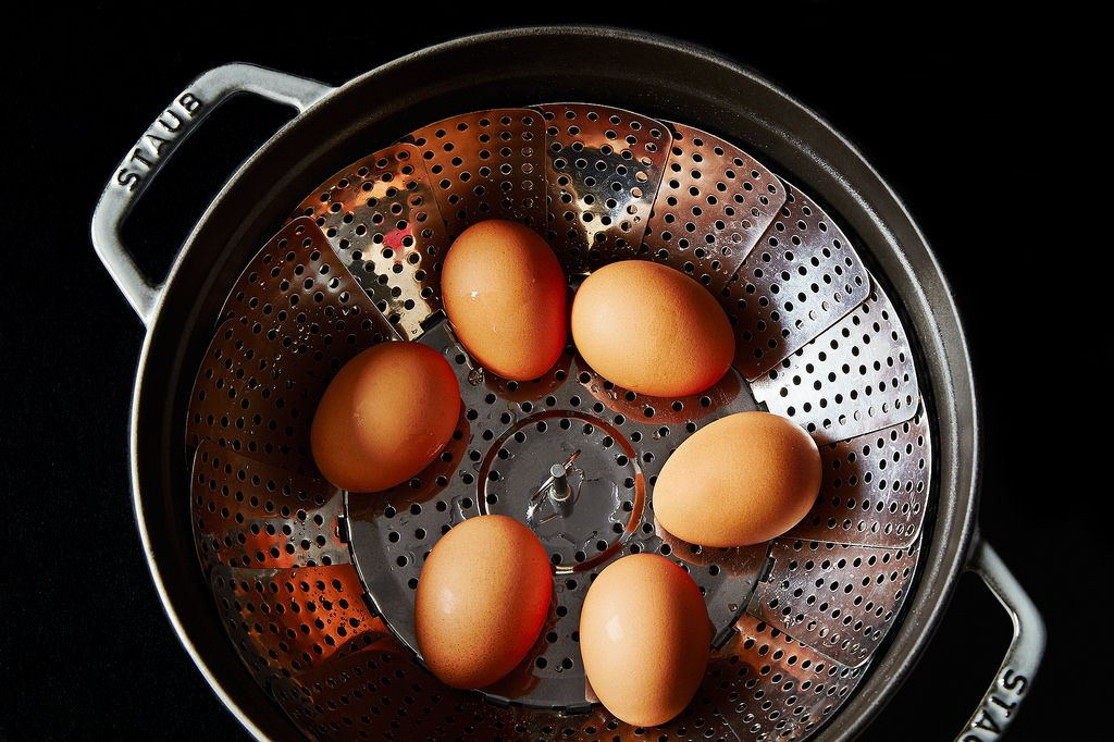 How to Hard Boil Eggs in a Steamer
