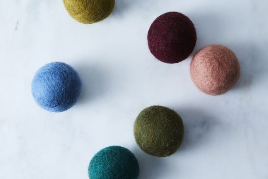 Handmade Wool Dryer Balls (Set of 6)