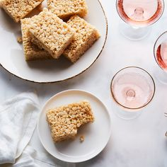 For Crispy, Gooey Treats That Really Pop, Add Champagne