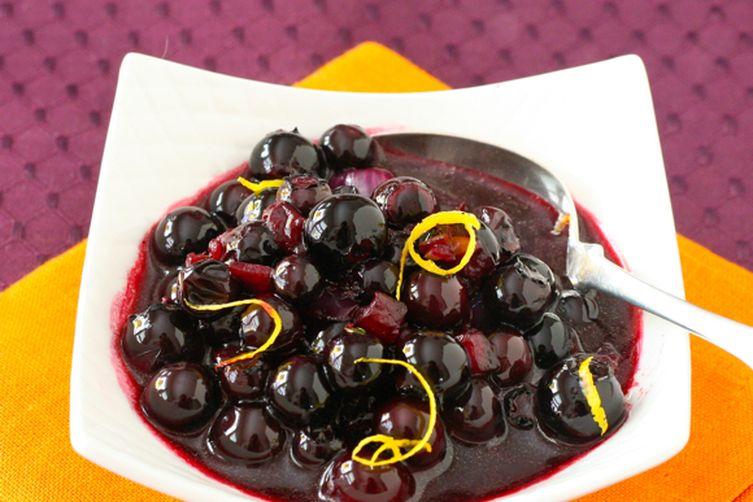 Savory Blueberry Sauce
