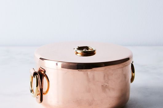 Vintage Copper English Pot, Mid 19th Century
