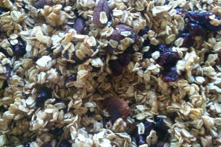 Fall Inspired Apple Granola (gluten/dairy/sugar free)