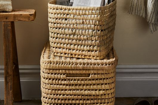 Woven Moroccan Nesting Baskets (Set of 3)