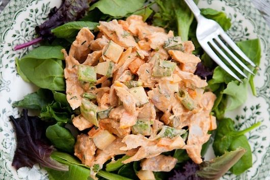 Spicy chicken salad