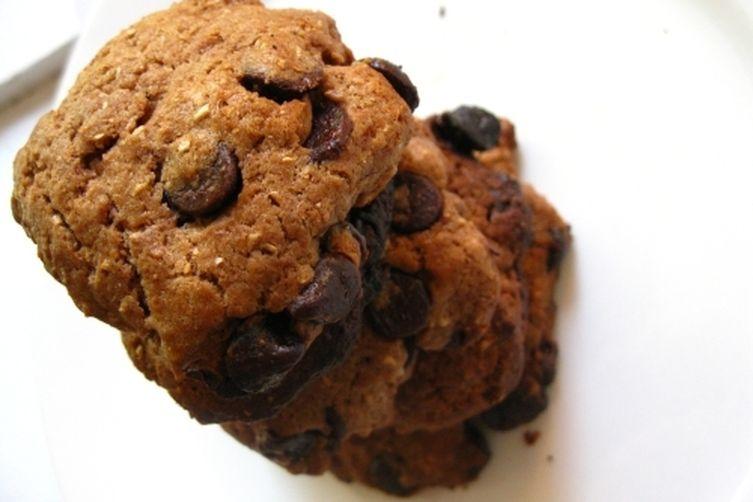 Chocolate Chip, Hazelnut Chocolate and Cream cheese Cookies