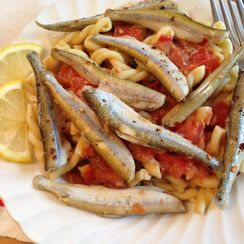Smelts with Anchovies and Lemons