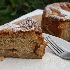Whole Wheat Apple Sharlotka