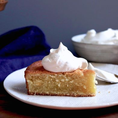 Double Vanilla Butter Cake with Chantilly Cream