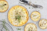 Fennel and Coconut Tart