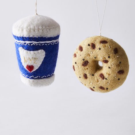 Handmade Felt Food Ornaments