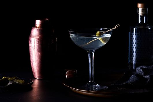 Pickle Brine Martini