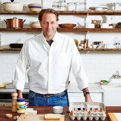 Michael Ruhlman's Weekend Broken-Yolk Fried Egg Sandwich
