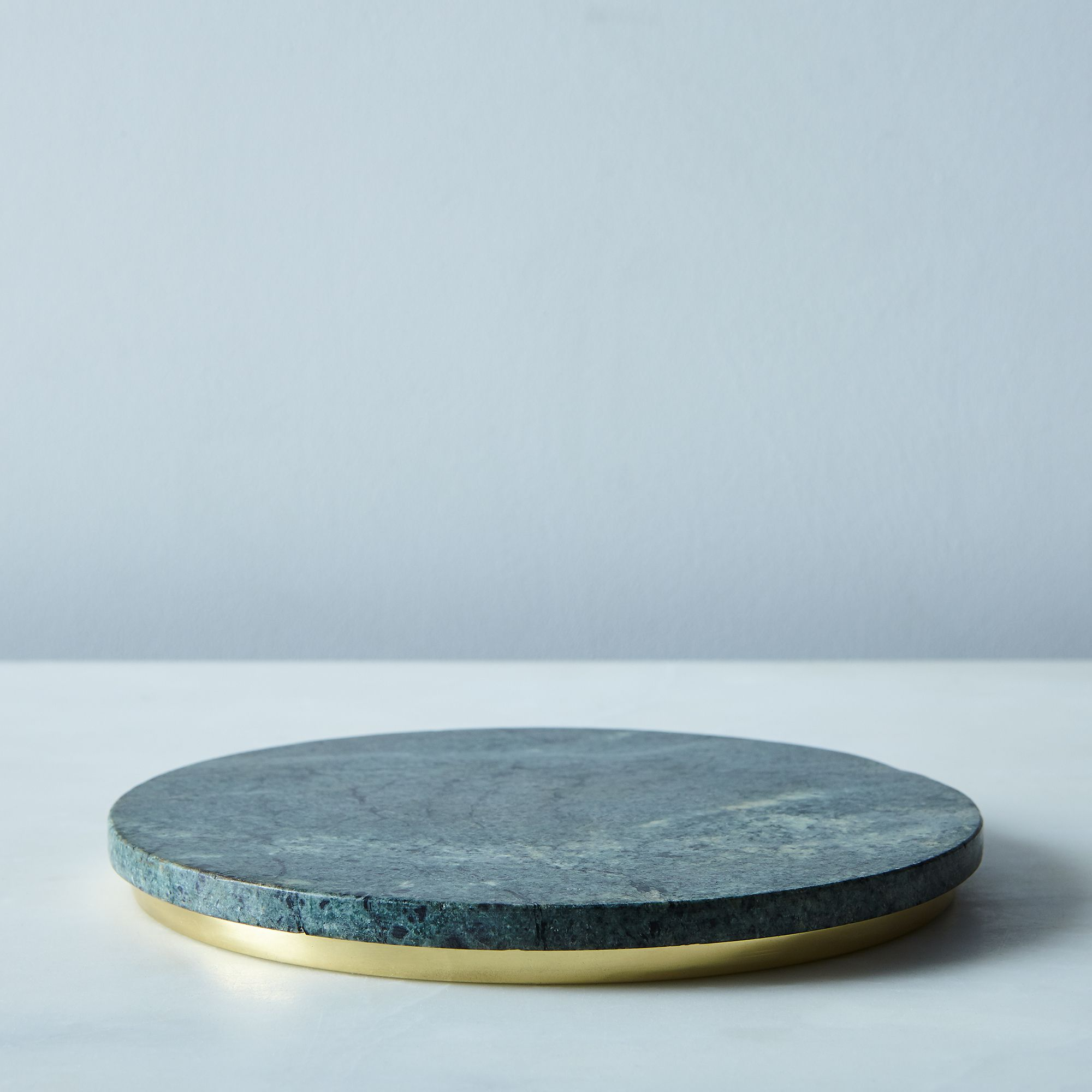 Buy Now Marble & Metal Trivet – Green & Brass Before Too Late