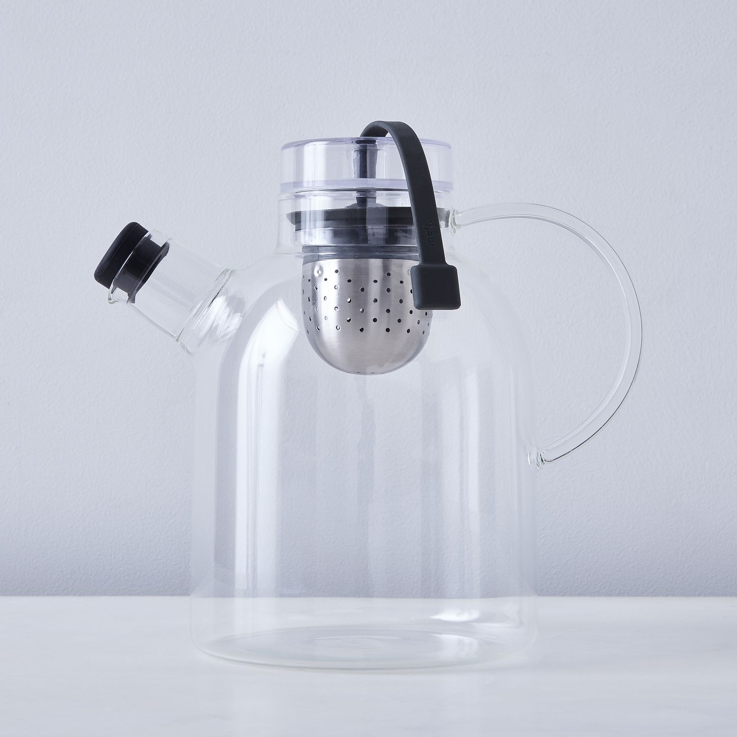 Glass Teapot With Retractable Infuser On Food52