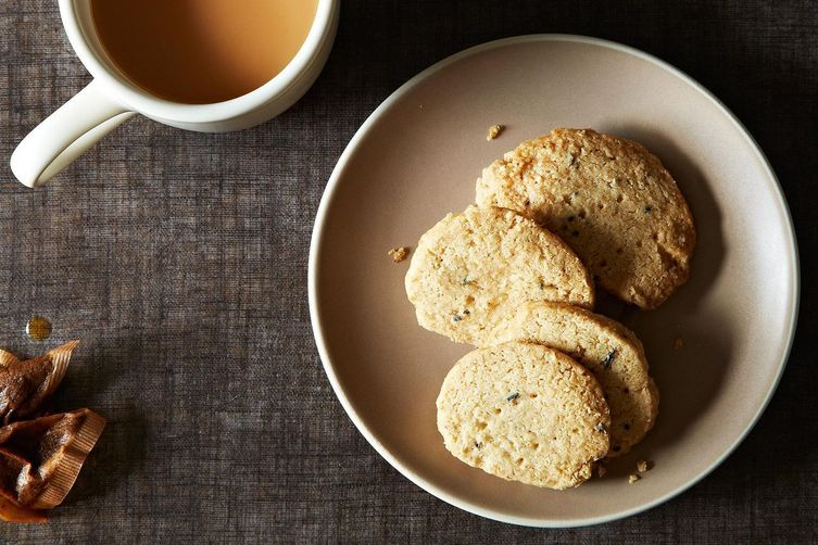 Oatmeal and Lavender Shortbread on Food52