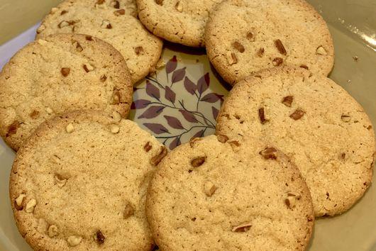 Maple Pecan Sugar Cookies