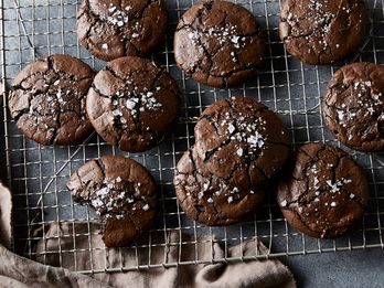 Chewy, Salty Brownie Cookies Will Change Your Mind About Black Licorice Forever