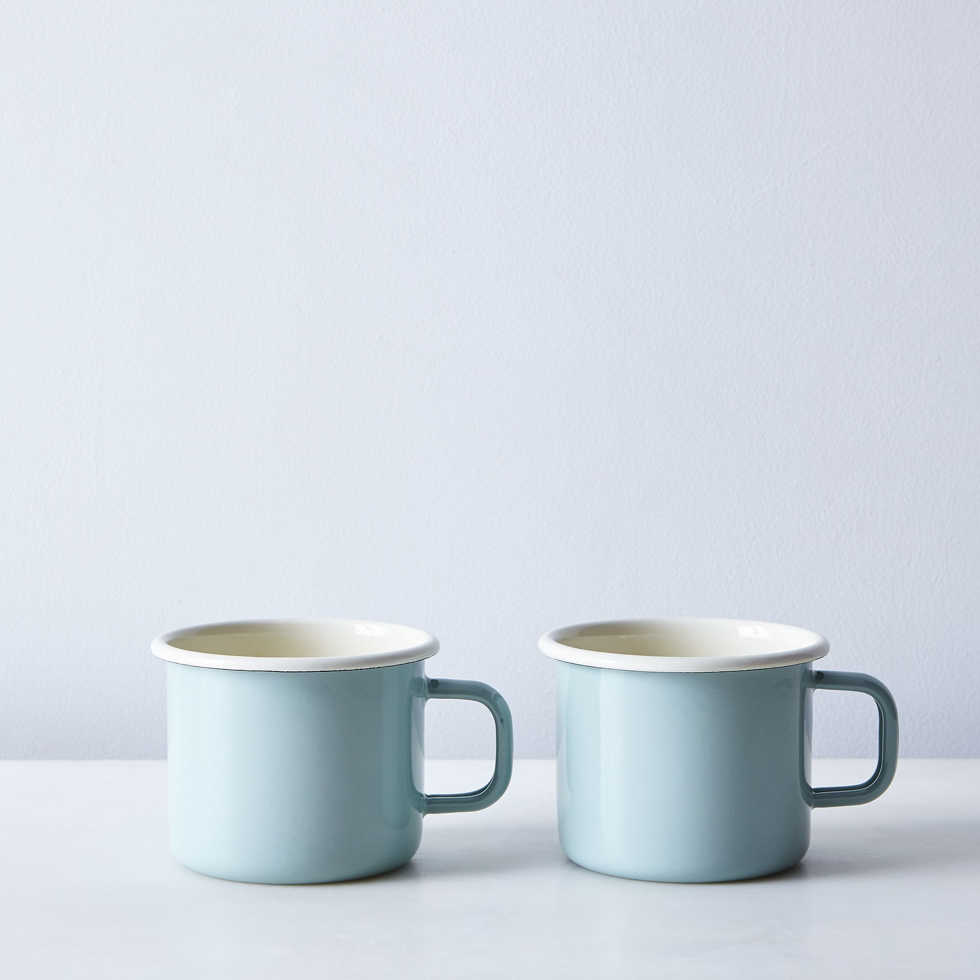 Enamel Mug (Set of 2) - Sage