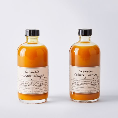 Infused Apple Cider Vinegar (Set of 2)