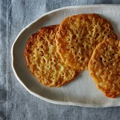 Buttery Lemony Lace Cookies