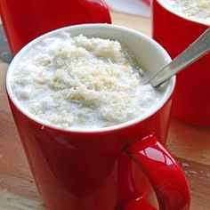 Coconut milk risotto (Arborio rice pudding)