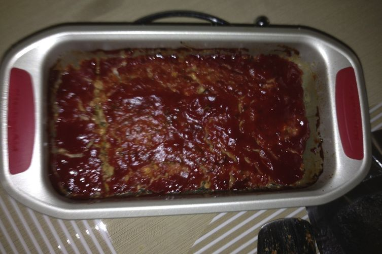 Turkey and zucchini meatloaf
