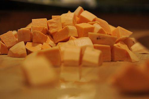Sweet Potato Soup with Feta and Za'atar Oil Recipe on Food52