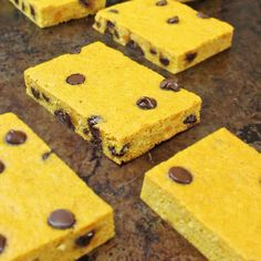 CHOCOLATE CHIP & KABOCHA BREAKFAST BARS