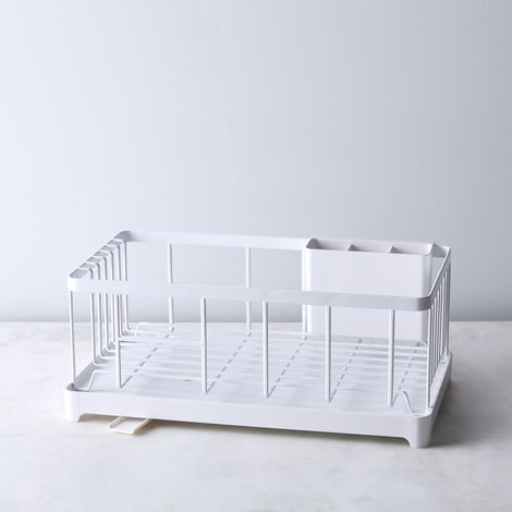 Dish Rack With Drain Spout